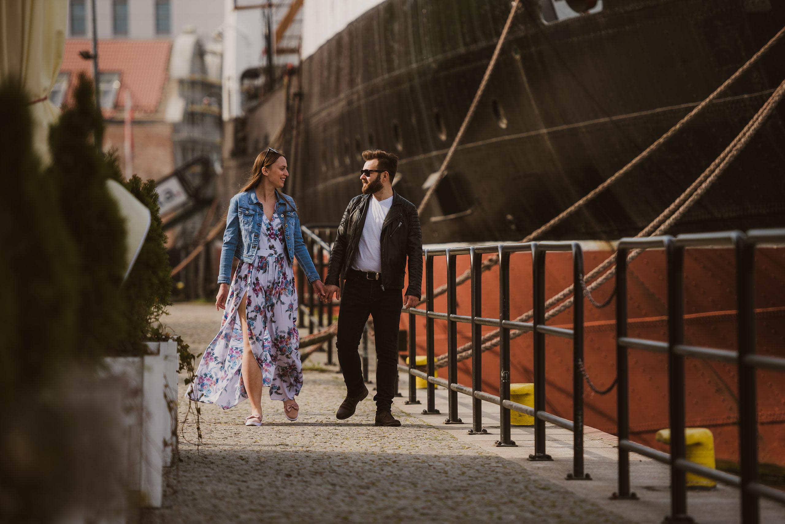 Sesja narzeczeńska Gdańsk Stare Miasto - Lovestories